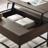 JACOBSEN LIFT-TOP STORAGE COFFEE TABLE