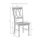 SHELBY 2PC DINING CHAIR SET