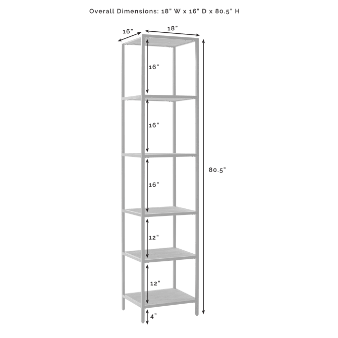 JACOBSEN NARROW ETAGERE