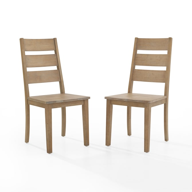 JOANNA 2PC LADDER BACK CHAIR SET