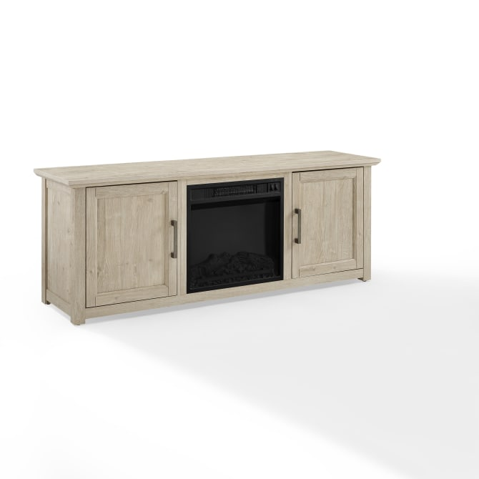 "CAMDEN 58"" LOW PROFILE TV STAND W/FIREPLACE"