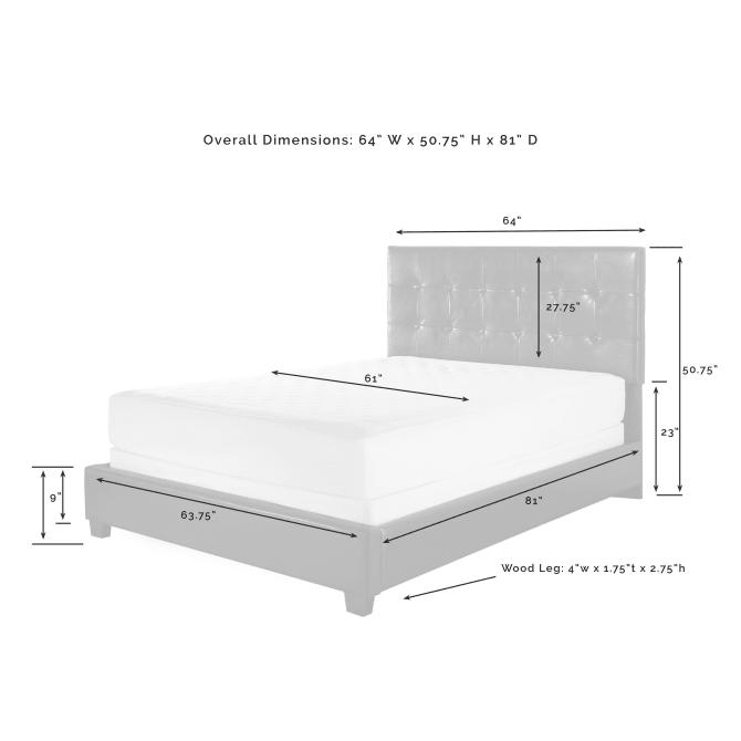 ANDOVER QUEEN BED