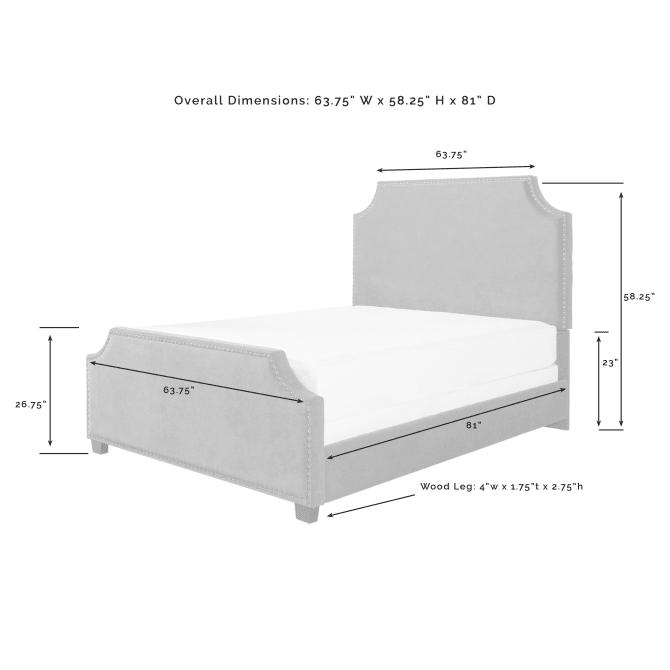 BROOKS QUEEN BED