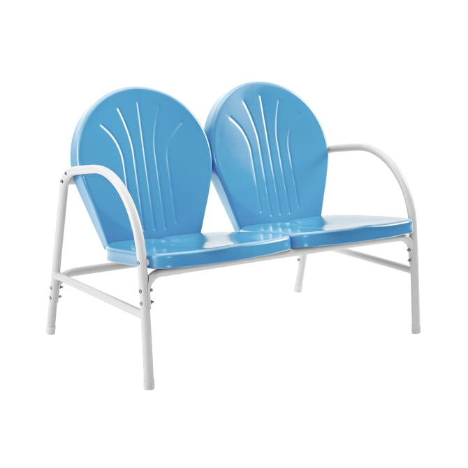 GRIFFITH OUTDOOR METAL LOVESEAT
