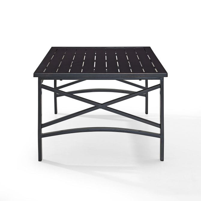 KAPLAN OUTDOOR METAL COFFEE TABLE