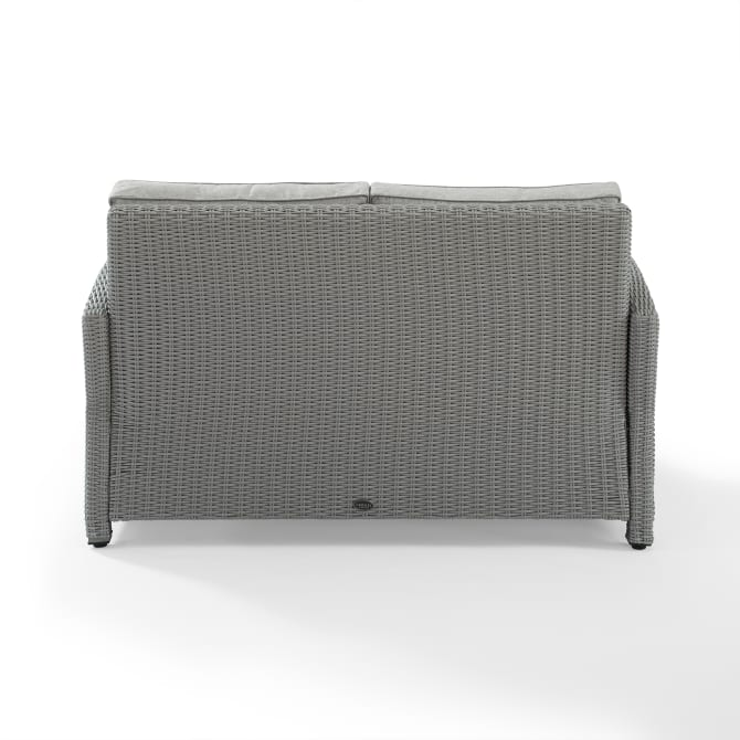 BRADENTON OUTDOOR WICKER LOVESEAT