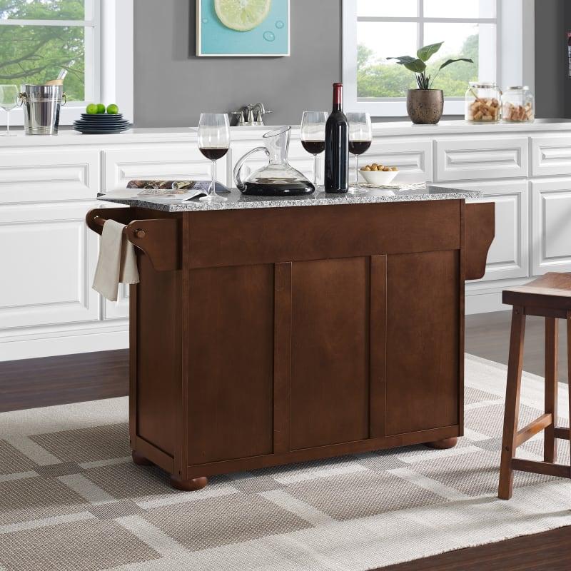 Crosley Furniture Eleanor Granite Top Kitchen Island,Chocolate Brown Caramel Light Brown Hair Color For Morena