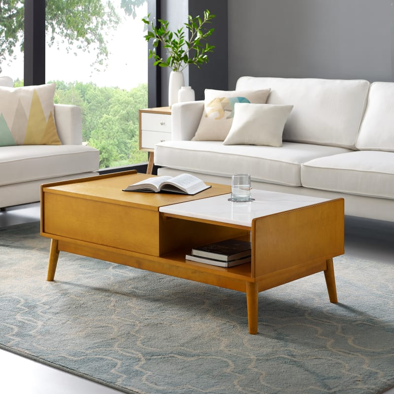 Crosley Furniture Landon Lift Top Storage Coffee Table